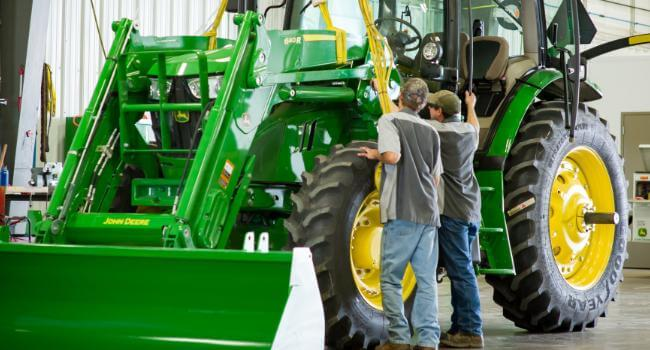 Build your own John Deere today! »
